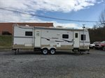 2008 DUTCHMEN TRAVEL TRAILER MODEL 27D-DSL W, 2 SLIDE OUTS, SLEEPS 6,  1 FULL BED,  27 FT, LOCATED AT RAINBOW MOTORS INC 937 E STONE DR KINGSPORT TN 37660 423-288-5827 RAINBOWMOTORSINC.COM