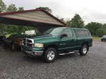 2003 DODGE RAM 1500  REG CAB 4WD  4.7L V8 MPI, 5-SPEED, SLT, GREEN IN COLOR, 101842 MILES LOCATED AT RAINBOW MOTORS INC 937 E STONE DR KINGSPORT TN 37660 423-288-5827