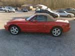 1999 MAZDA MX-5 MIATA  2D CONVERTIBLE  1.8L I-4 MPI DOHC CONVERTIBLE 5 SPEED RED IN COLOR 96808 MILES LOCATED AT RAINBOW MOTORS INC 937 E STONE DR KINGSPORT TN 37660 423-288-5827 RAINBOWMOTORSINC.COM