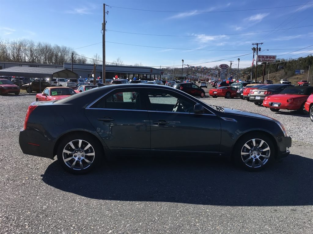 2009 CADILLAC CTS  4D SEDAN 3.6L DI  3.6L V6 DI DOHC GRAY IN COLOR, 71113 MILES LOCATED AT RAINBOW MOTORS INC 937 E STONE DR KINGSPORT TN 37660 423-288-5827