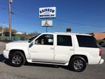 1999 CADILLAC ESCALADE  4D SUV 4WD  5.7L V8 CPI WHITE IN COLOR, 179473 MILES, LOCATED AT RAINBOW MOTORS INC 937 E STONE DR KINGSPORT TN 37660 423-288-5827