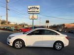 2012 CHEVROLET CRUZE  4D SEDAN  1.8L I-4 MPI WHITE IN COLOR, 5 SPEED, 112404 MILES, LOCATED AT RAINBOW MOTORS INC 937 E STONE DR KINGSPORT TN 37660 423-288-5827 RAINBOWMOTORSINC.COM